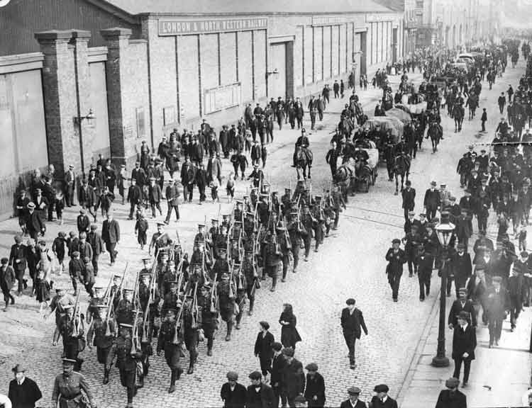 Liverpool Riots 1911 Workers Liverpool 1911