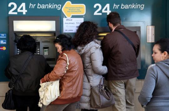 Cipro, prelievo forzoso dai conti bancari | Leftcom