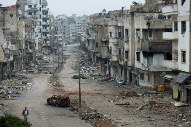 war in syria war