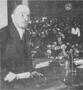 Momenti del II Congresso dell'Internazionale Comunista