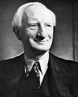 William Beveridge whose 1942 Plan insisted that pensions should be at