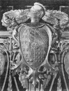 Lo stemma di un altro principe: il Colleoni