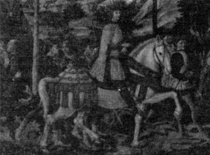 Il Principe Lorenzo de' Medici in un dipinto di Benozzo Gozzoli