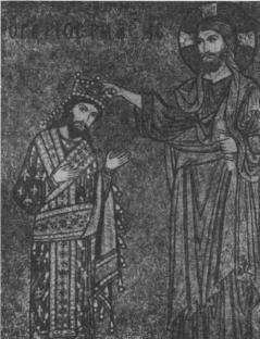 Cristo concede la investitura a Ruggero II