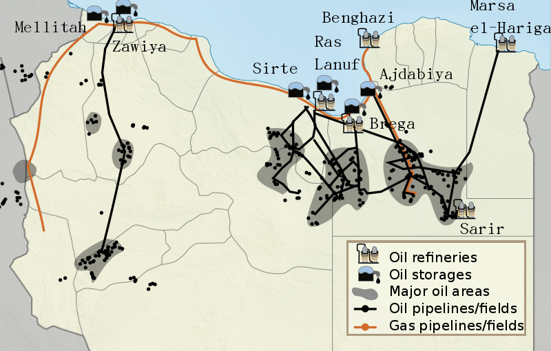 Image result for libya oil war