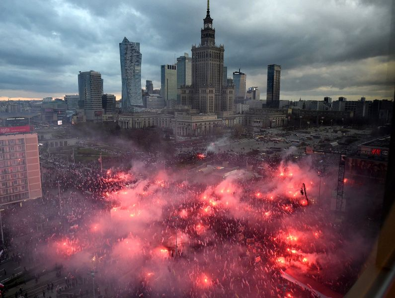 From the Heart of Darkness: Anatomy of a March in Poland | Leftcom